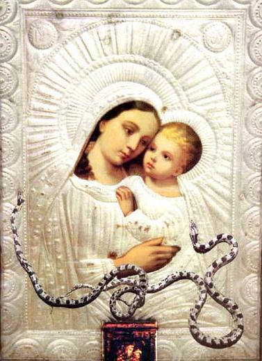 Панагия Федуса икона Божией Матери